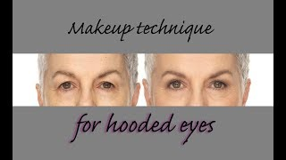 Hooded Eyes - Simple Makeup Techniques For Mature, Hooded Eyes