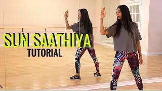 Sun Saathiya Dance Tutorial – Learn Bollywood Dance with Shereen Ladha