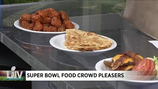 Super Bowl food crowd pleasers