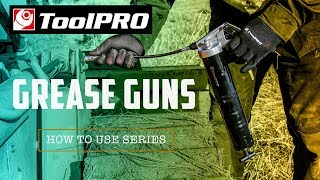 How To Use Grease Guns