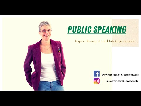 Public Speaking - Are you hiding your voice and skills away?