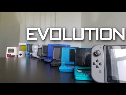 Evolution Of Nintendo Handhelds 1980 - 2017