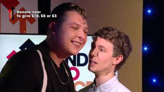 John Newman plays Face Invasion with Matt Edmonson
