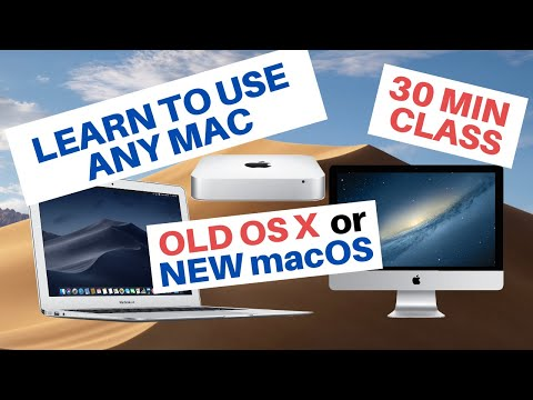 How to use a Mac | Learn to use Apple Computers Full Free Class ...