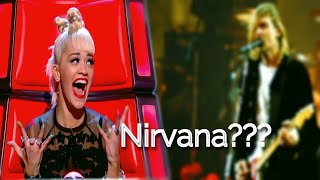 """BEST """"Smells Like Teen Spirit"""" covers in The Voice 