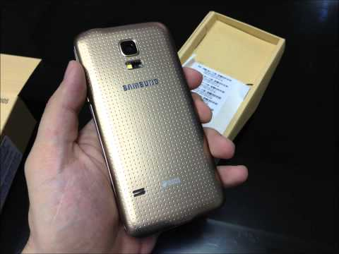Samsung GALAXY S5 mini DUOS gold color SM-G800H/DS