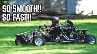 750cc Cross Kart FIRST DRIVE!