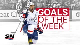 NHL Goals of the Week: Ovechkin makes good