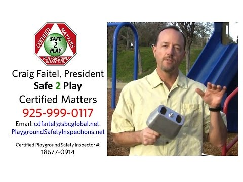 Playground Safety Inspections by Craig Faitel, Certified Playground ...