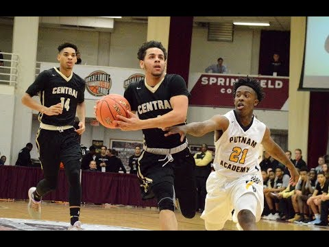 Central basketball defeats Putnam at 2018 Hoophall Classic