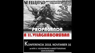 Az 1941 nyári szovjet atrocitások ábrázolása a korabeli magyar propagandában, 2018. november 16.
