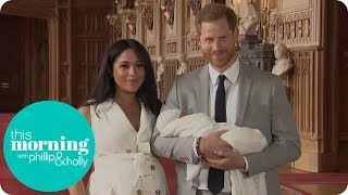 Phillip & Holly React to First Glimpse of Royal Baby   This Morning