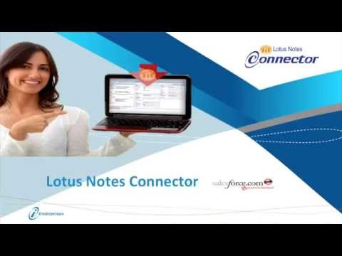 Lotus Notes Connector for Salesforce.com