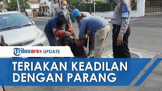Mengaku Mendengar Suara Gaib, Pria Misterius Serang Mapolresta Yogyakarta sambil Teriak Keadilan