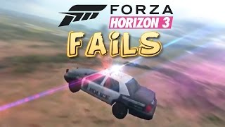 Forza Horizon 3 FAIL Compilation