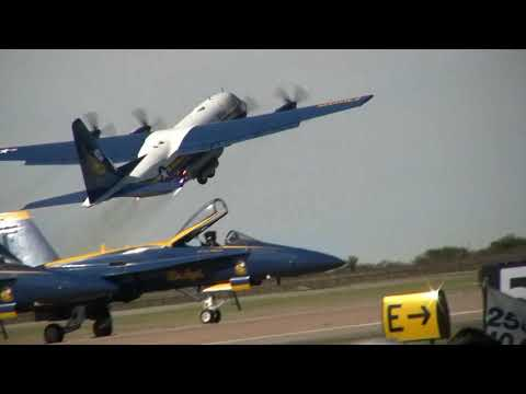 The Blue Angels Jet Assisted Fat Albert C-130