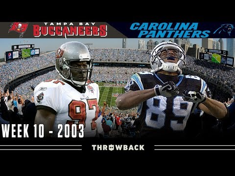 HEATED Battle with the Champs! (Buccaneers vs. Panthers 2003, Week 10)