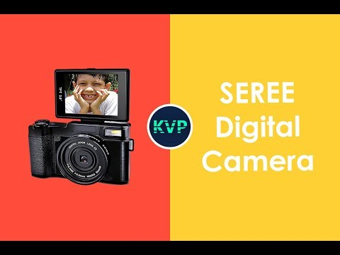 SEREE HD Digital Camera Unboxing and Review - KVP Tech ✅