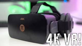 The $400 4K Virtual Reality PC Headset