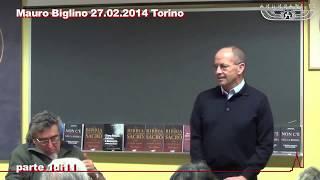Mauro Biglino - Conferenza a Torino - 27 febbraio 2014
