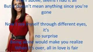 Alicia Keys Doesn't Mean Anything w/ onscreen lyrics