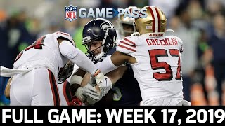 MASSIVE Playoff Seeding on the Line: 49ers vs. Seahawks 2019, Week 17 FULL GAME