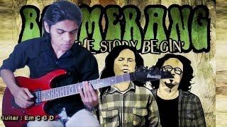 Boomerang   Pelangi___Guitar Cover By Mr. JOM