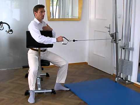 Eine Operation zeigt das Kniegelenk Video ersetzen