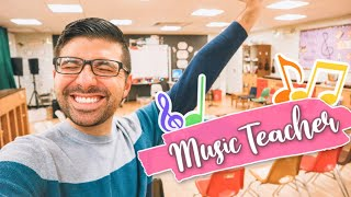 *REAL* DAY IN THE LIFE OF AN ELEMENTARY MUSIC TEACHER!