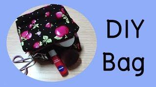 สอนเย็บกระเป๋าทรงสี่เหลี่ยม | DIY Handmade Bag