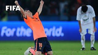 Club classic: Messi winner powers Barca to history
