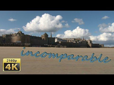 Saint Malo, Brittany - France 4K Travel