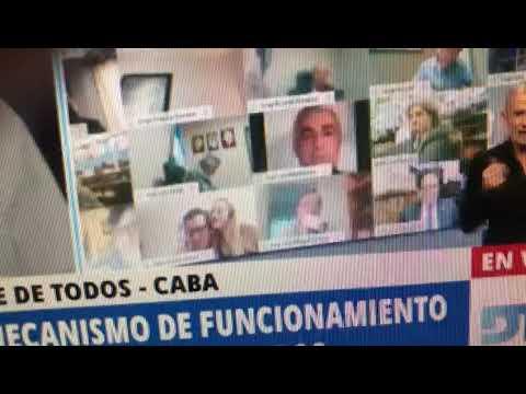 Video: Escándalo con el diputado Juan Ameri luego de mostrar actos obscenos vía zoom