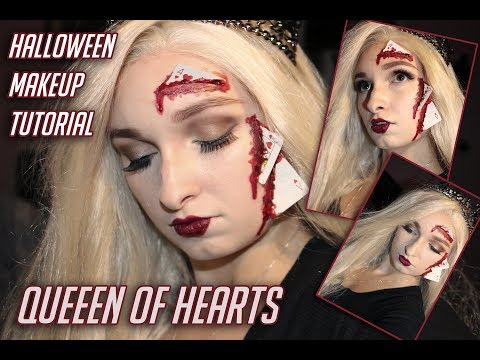 ViviShmivi | Halloween | Makeup Tutoriál #2 | Queen Of Hearts