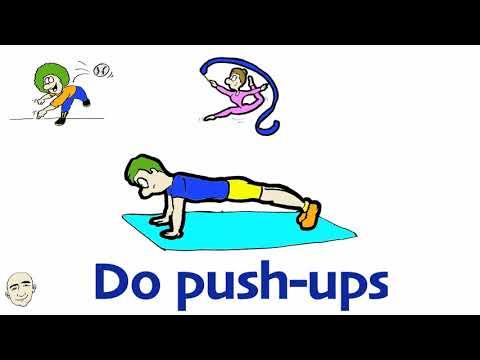 Zestaw ćwiczeń w abdominis rectus