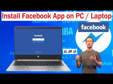 How to install Facebook App on PC / Laptop WithOut Bluestacks | Install Facebook in Windows