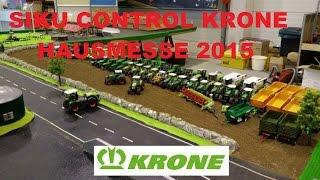 preview picture of video 'Siku Control Krone Hausmesse 2015 / von SC Modellbau Schapen'