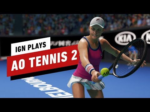 Gameplay de AO Tennis 2