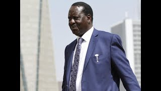 NASA leader, Raila Odinga jets to Kisumu ahead of the NASA rally in Kakamega