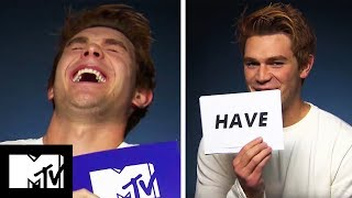 Download Youtube: KJ Apa Plays Never Have I Ever! 😂 | MTV Movies