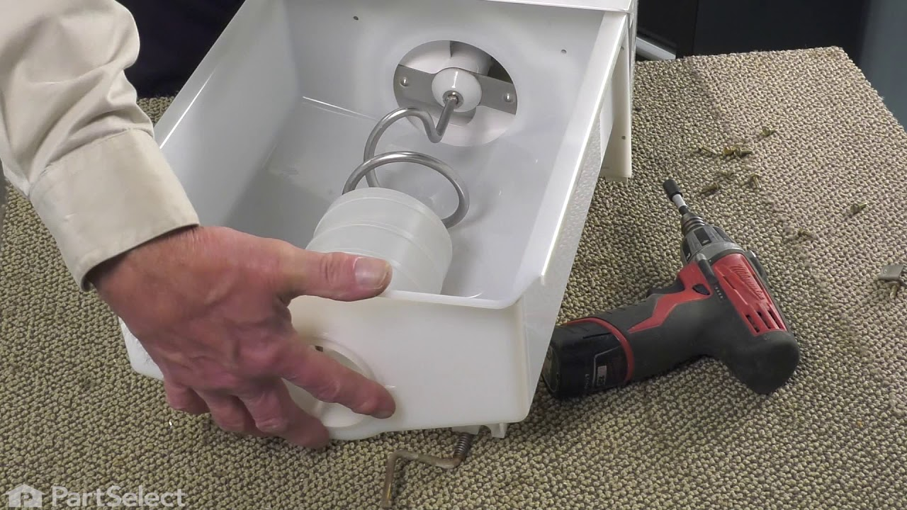 Replacing your Whirlpool Refrigerator Ice Bucket