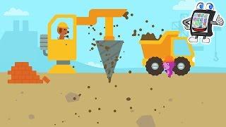SAGO MINI LASTWAGEN & BAGGER App Deutsch - Sago Mini Baustelle! Spiel für Kinder - Android & iOS