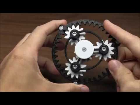 Planetary Gear Fid Spinner by plusalphaDesigns Thingiverse