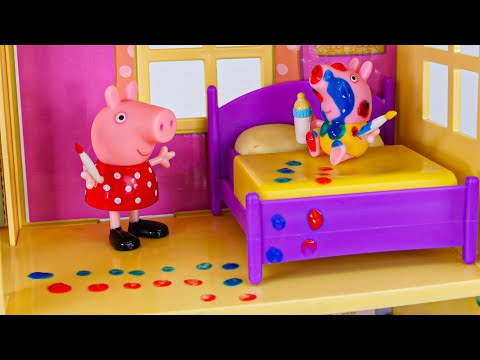 Peppa Pig बच्चों के लिए टॉयलेट लर्निंग वीडियो!