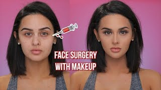 FACE SURGERY WITH MAKEUP - Video Youtube