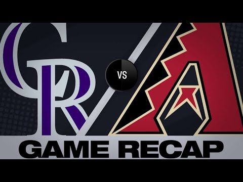 Ianetta's hit in the 10th leads Rox to 6-4 win   Rockies-D-backs Game Highlights 6/20/19