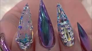 Красивые длинные ногти / Идеи маникюра / Nail art  new