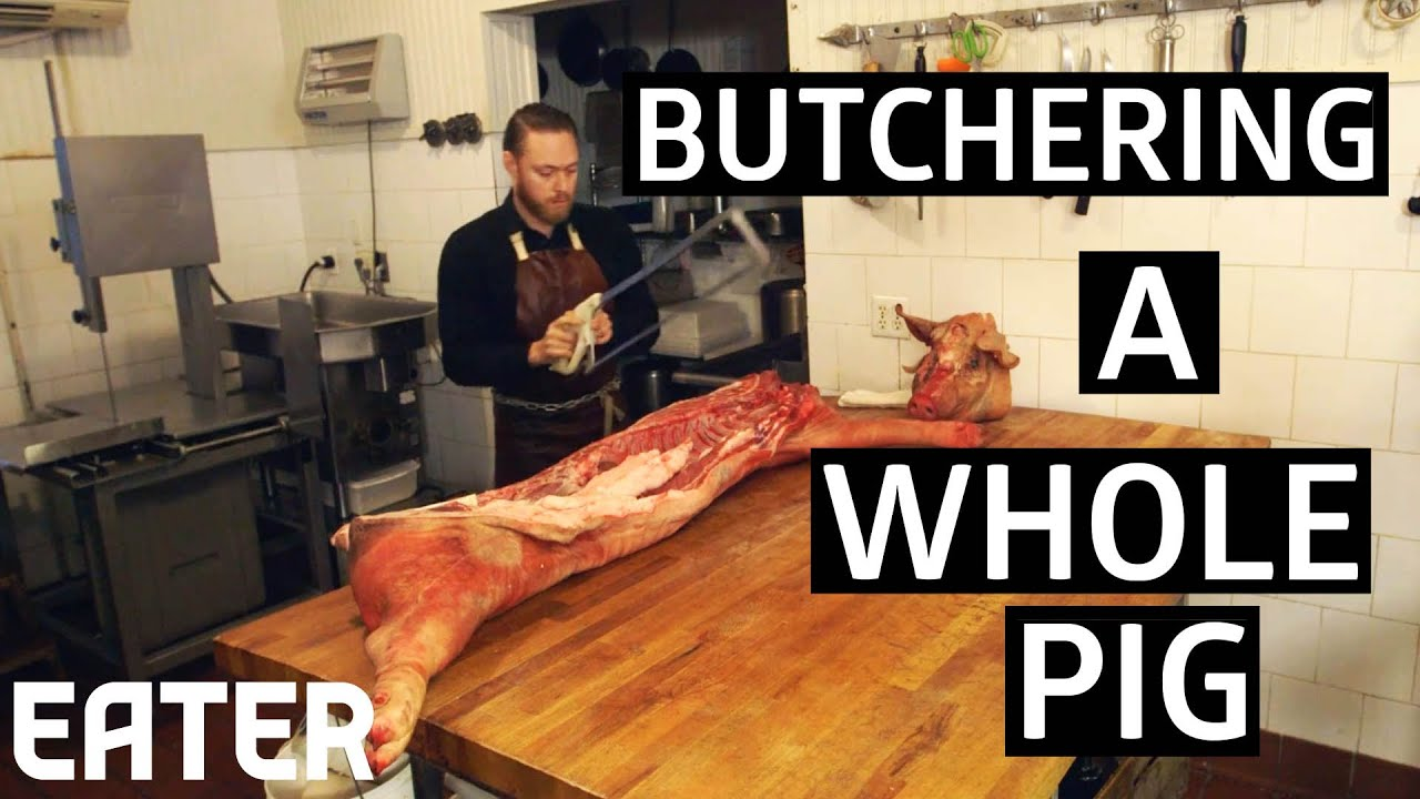 How To Butcher A Pig Into 9 Classic Cuts thumbnail