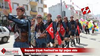 bayındır çiçek festivali 2015