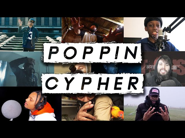 Crypt - Poppin' Cypher ft. KSI Top 13 (VI Seconds, 100Kufis, OfficiallyLeo, Samad Savage, & More)